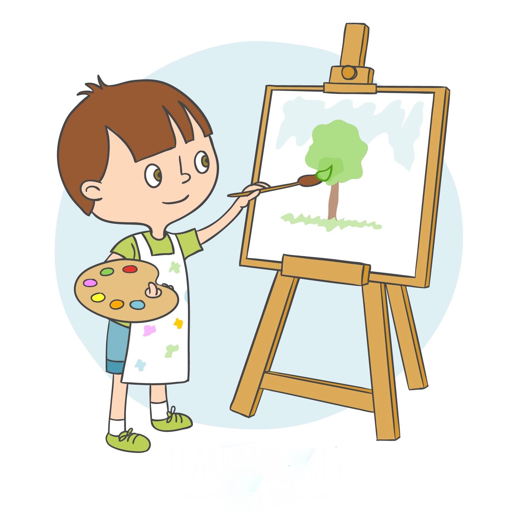 art class clip art - HD1667×1667